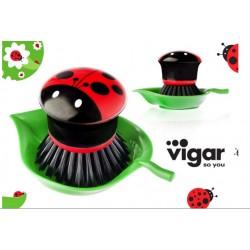 szczotka do zlewu do mycia naczyń vigar zabawny gadżet kuchenny