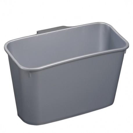 Kosz kuchenny na szafkę srebrny