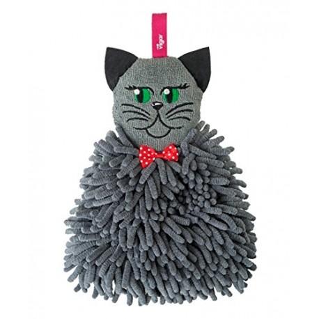 Ręcznik z mikrofibry kot felix