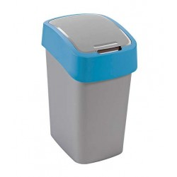 Kosz na śmieci 25 L Flip Bin niebieski