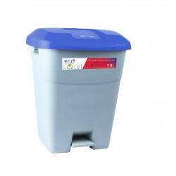 Plastikowy kosz do śmieci z pedałem eco 50 L
