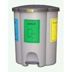 Pojemnik do selektywnej zbiórki TRIO o pojemności 40 litrów