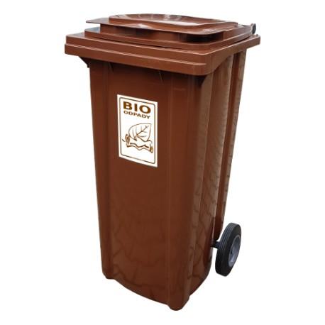 Pojemnik na bioodpady o pojemności 120 litrów